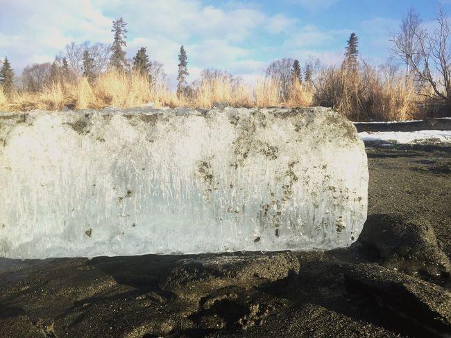 Beach Ice Winter Outdoors Alaska