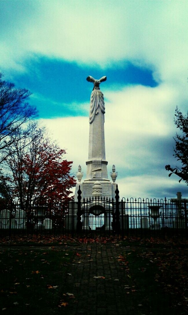 Clouds Sky Autumn Memorial Tennessee Grave Andrew Johnson POTUS President