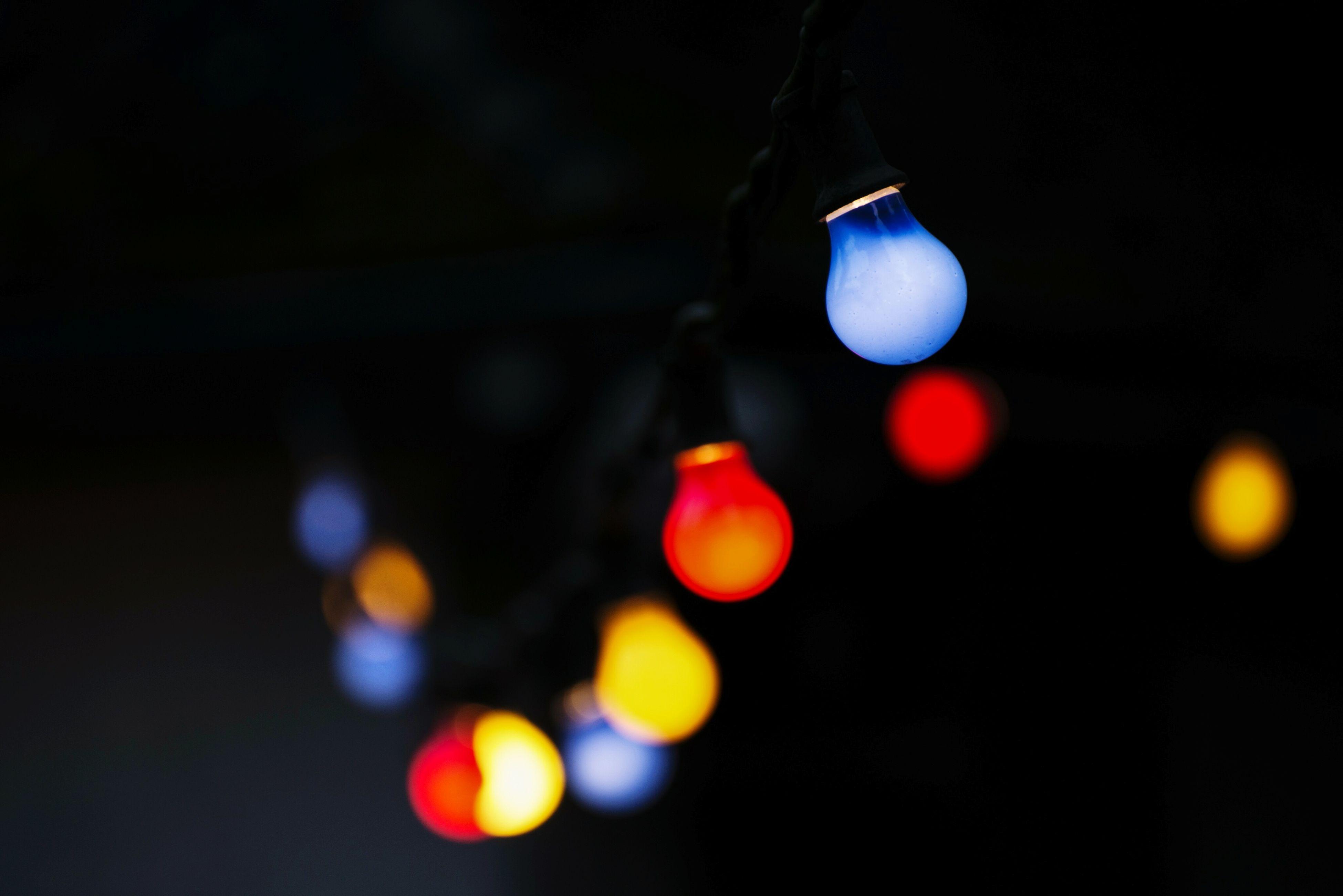 illuminated, lighting equipment, night, close-up, no people, christmas decoration, defocused, christmas, outdoors, light effect, christmas ornament