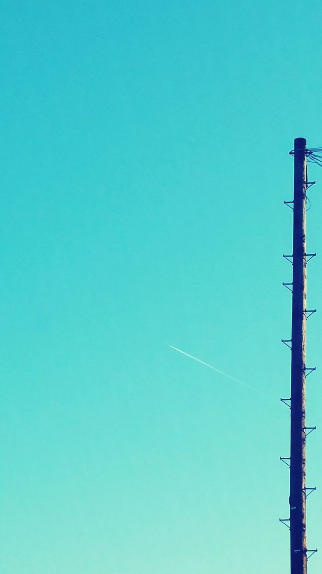Negative Space 35.ooofeet Telegraph Pole