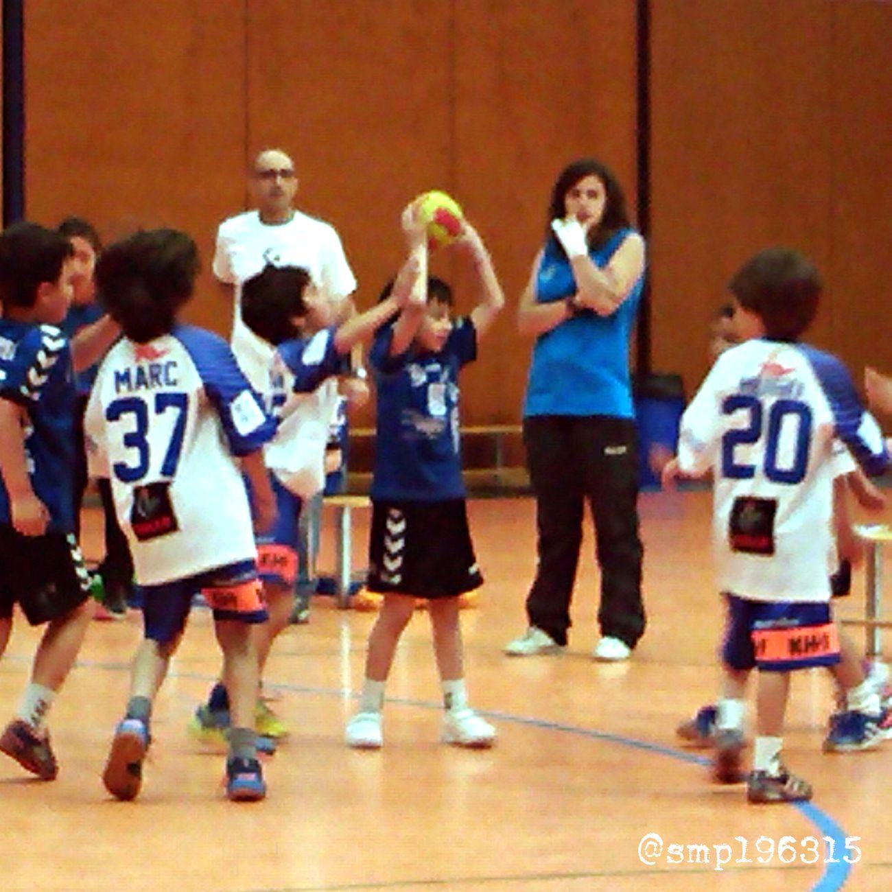 Handball Santantonidevilamajor vs Granollers prebenjamín 11/15. Igersvoriental