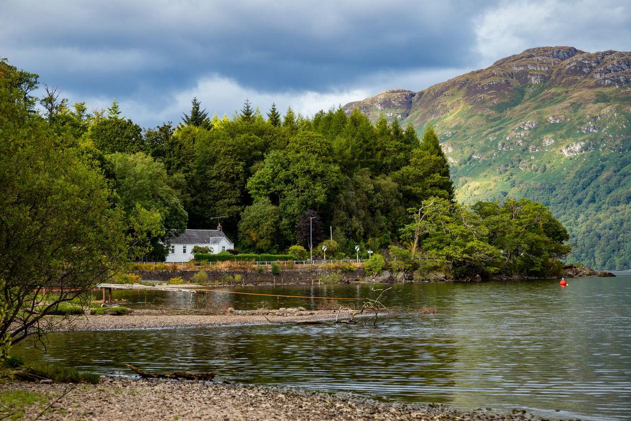 Cloud - Sky Landscape Loch  LochLomond Mountain Outdoors Sky Tranquil Scene Tranquility Tree Water