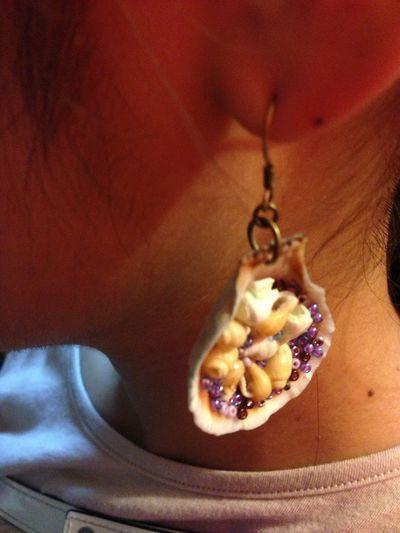 Makeaccesories Mywork Earrings Shell