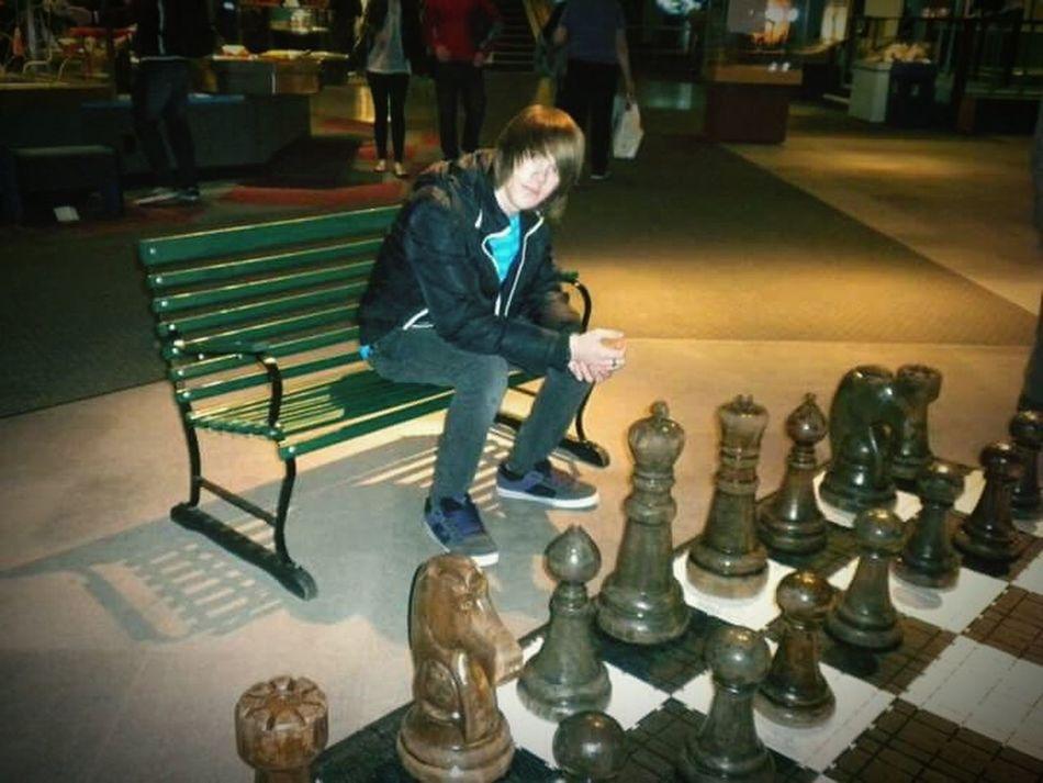 Urban Lifestyle Giant Chess Seattle, Washington