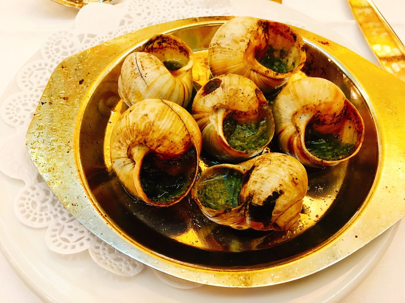 Escargot Meal 2016 June in France Travel