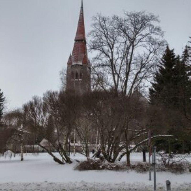 Tuomiokirkko Tampere Tamperelove Tampereentuomiokirkko Talvi Cathedral Cathedraloftampere Winter Snow Lumi Finland Suomi Ilovetampere Ilovefinland Tampereallbright