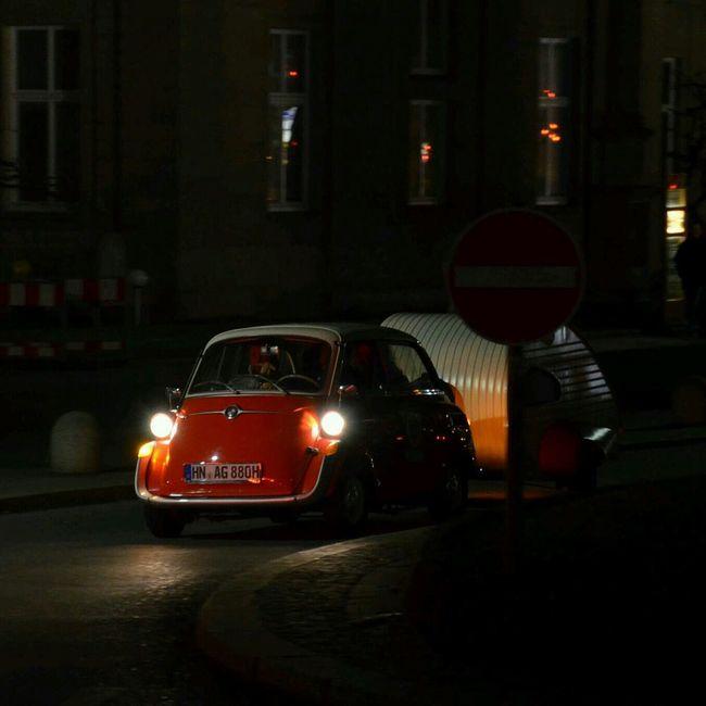 Isetta Bmw Nightshot Car