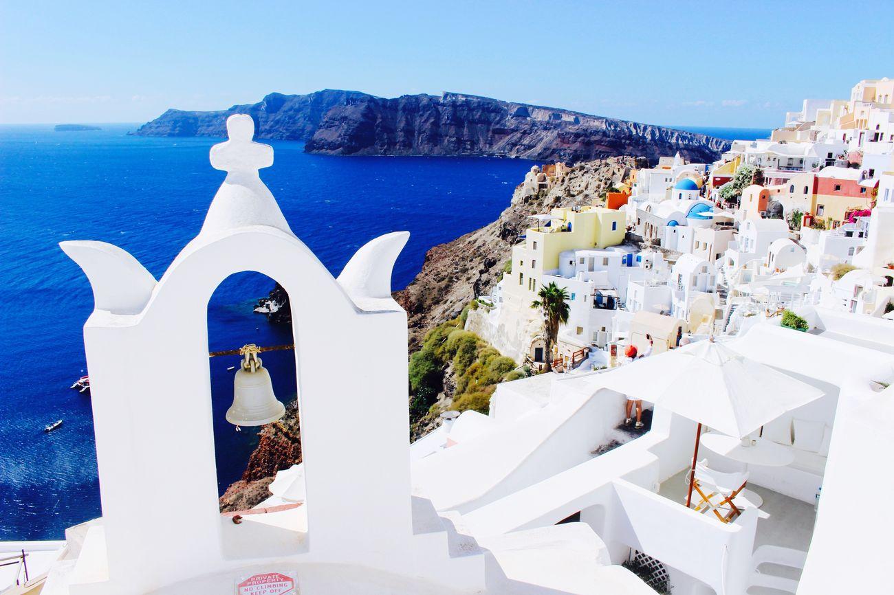 Greece GREECE ♥♥ Santorini Santorini, Greece Oia Oia Santorini Landscape Panorama Panoramic Panoramic Photography Summer Summer ☀ Summer Views