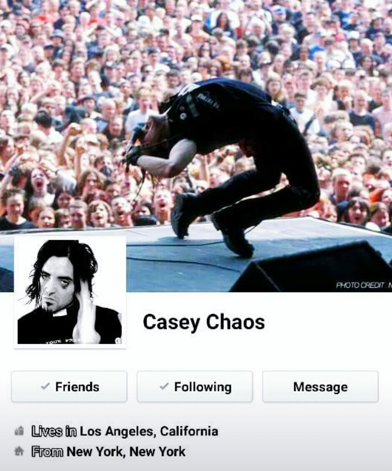 Amen Bands Casy Chaos Musician Singer/Song Writer Music Art Photography