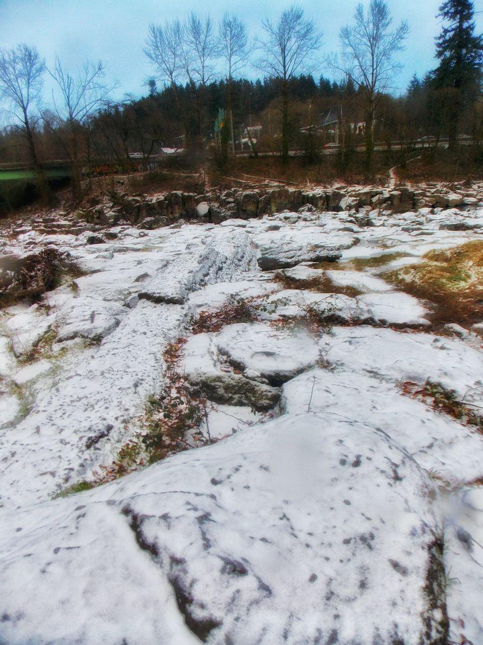 High Rocks Gladstone OR Clackamas River Snow ❄ Enjoying Life Great View Taking Photos