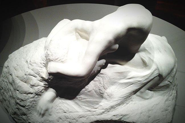 L'Aurore et Tithon Rodin Mbamtl Art Sculpture Montréal