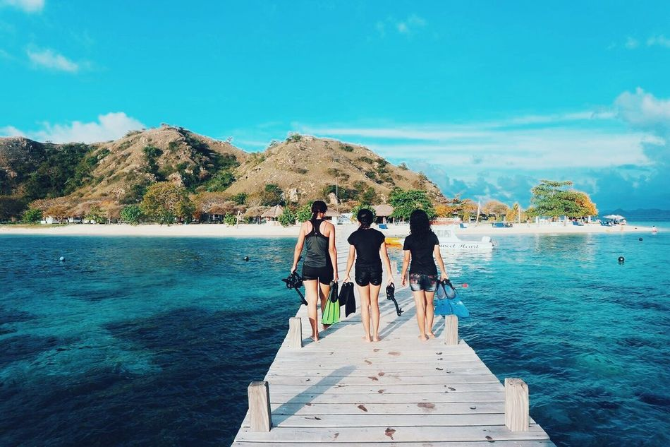One of the best hidden paradise in Indonesia Friendship Vacations Blue Outdoors Summer Sky People Sea Travel Leisure Activity Tourism Beach Full Length Sunlight Enjoyment Water Happiness Travel Destinations Day Togetherness INDONESIA Labuanbajo The City Light The City Light