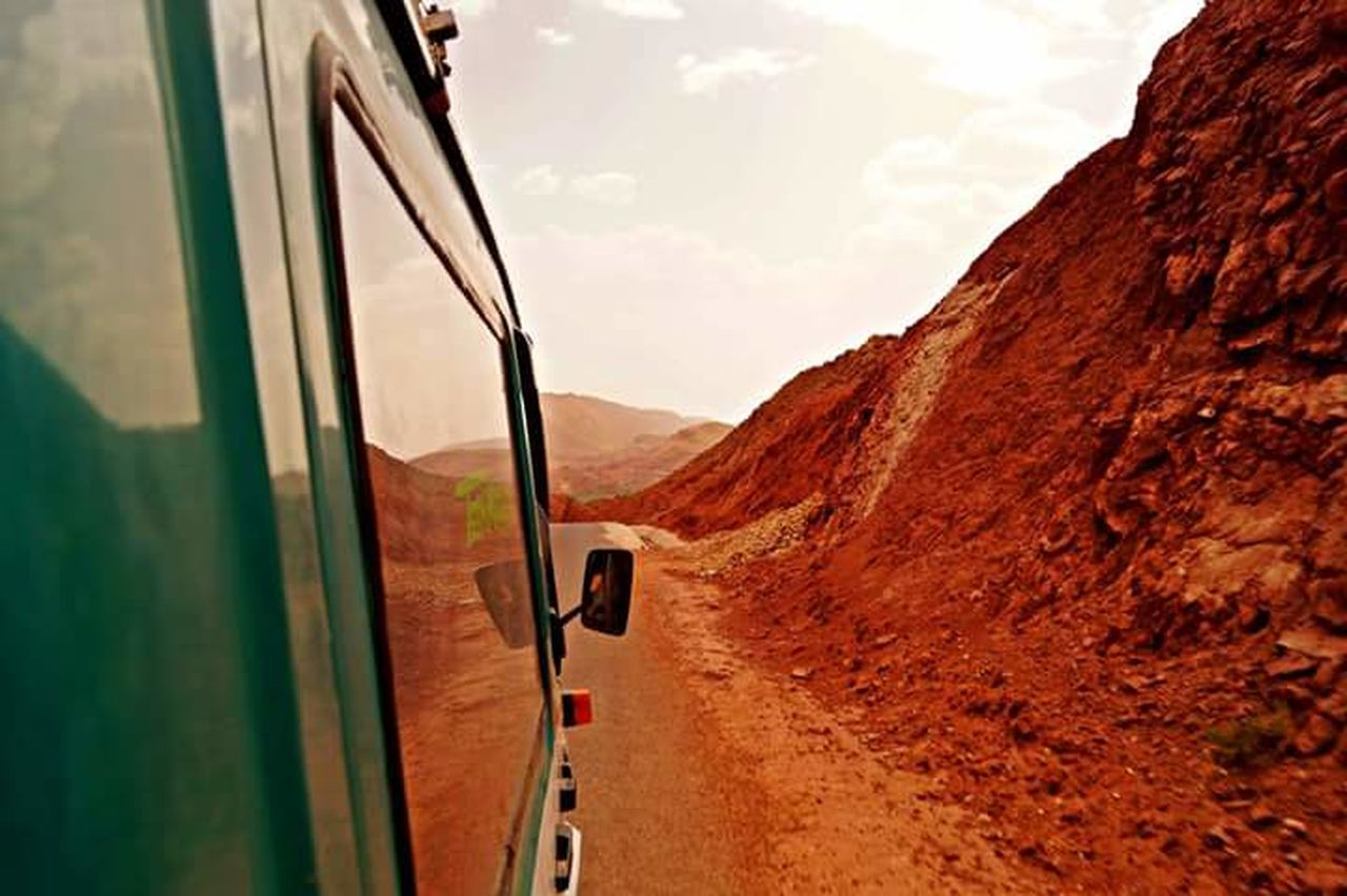 Majestic Dades Valley Dades Gorges Valley Rocks Environment Nature Atmosphere Beauty In Nature Orange Color Scenics Car Jeep Scenic Drive Mountains