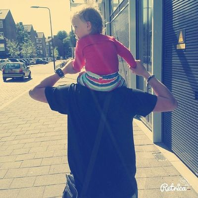 YoungDaddy Son Jahreza Babyboy Outside Luvvv Liefde Proud