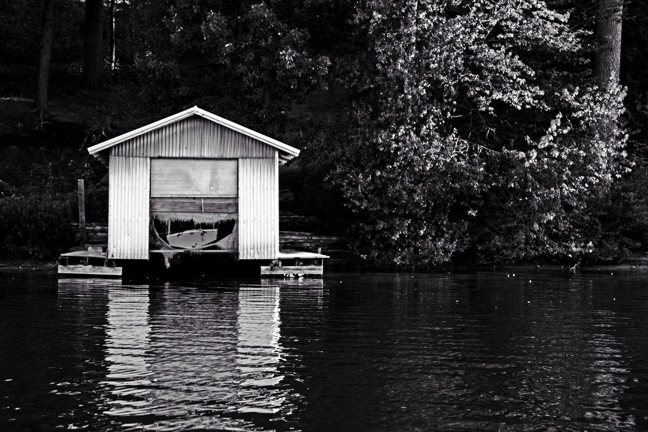 EyeEm Best Shots New York ADK Adirondack B&w Canon Sl1 Blackandwhite Explore Amaturephotography Photography Light And Shadow Art America ADK Boats Boathouse Boat House Water Lakes  Lake Nature Starlake