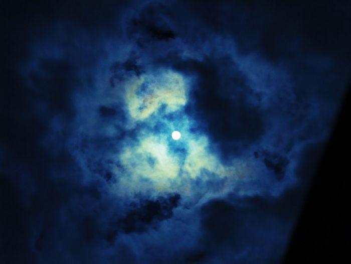Christmas moon Beautiful Nightphotography