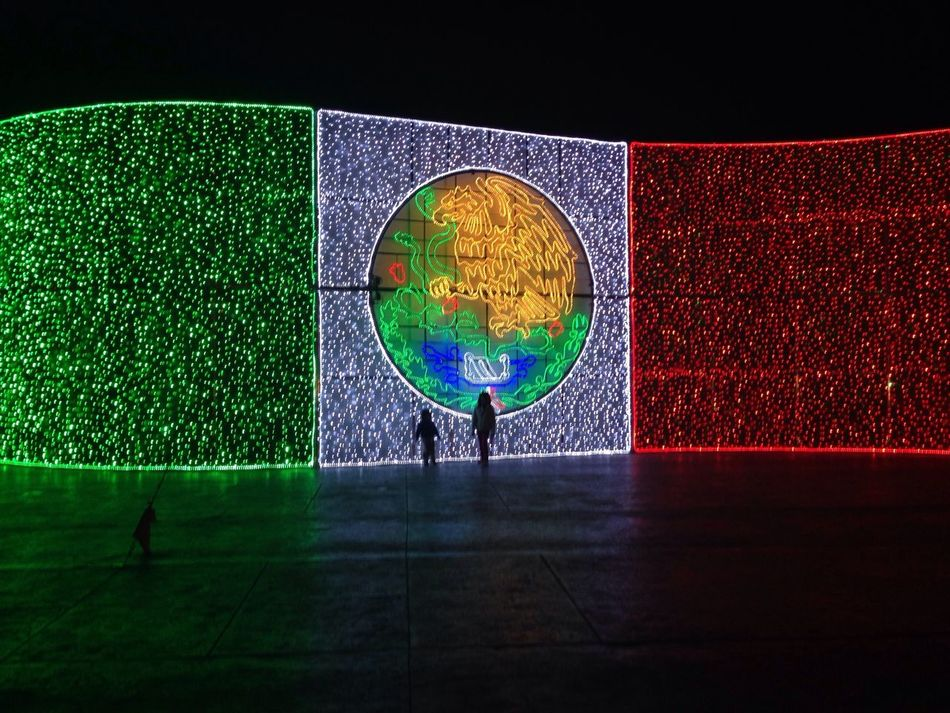 Beautiful stock photos of mexican flag, Art, Identity, Illuminated, Mexican Flag