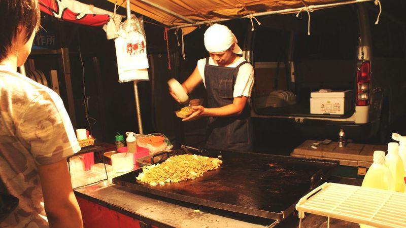 Streetphotography Night Market 屋台 夏の夜 Japan Photography