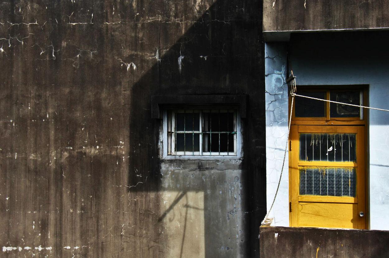 ArtWork Mysterious Window Window And Door