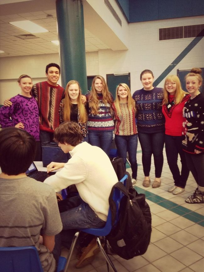 Tacky Sweater Day