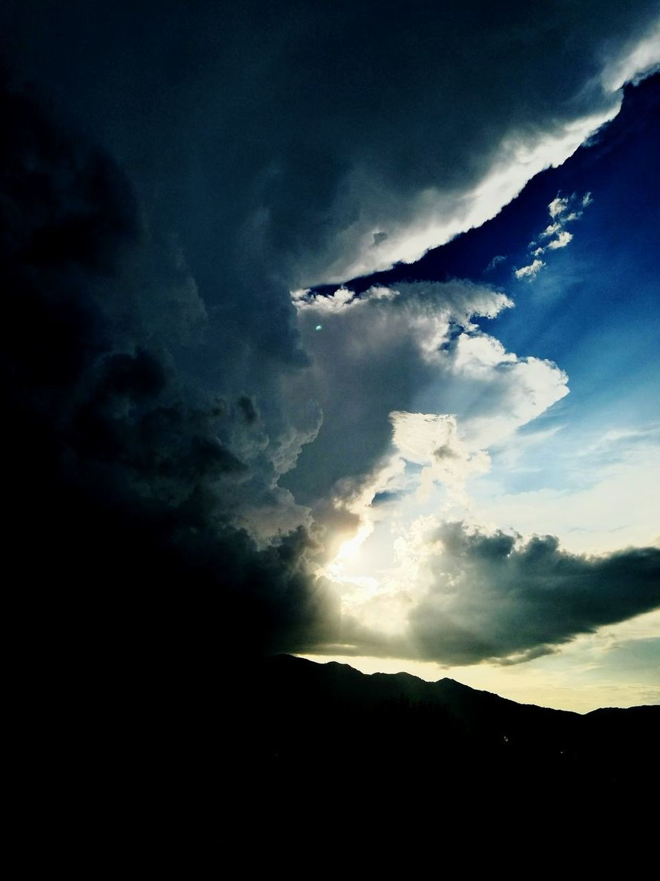 Last Sunlight Stormy Weather Clouds Sky Unbelievable Sky Beautiful