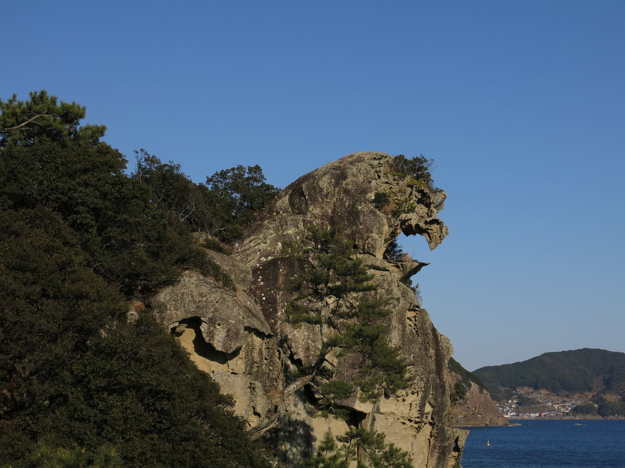 Shishiiwa Lion Rock Mie,japan UNESCO World Heritage Site 獅子岩 Kumano
