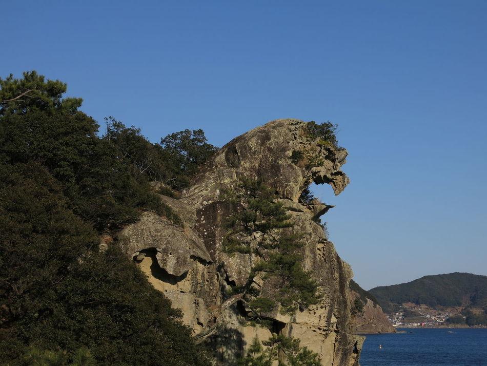 Shishiiwa Lion Rock Mie,japan UNESCO World Heritage Site 獅子岩 Kumano