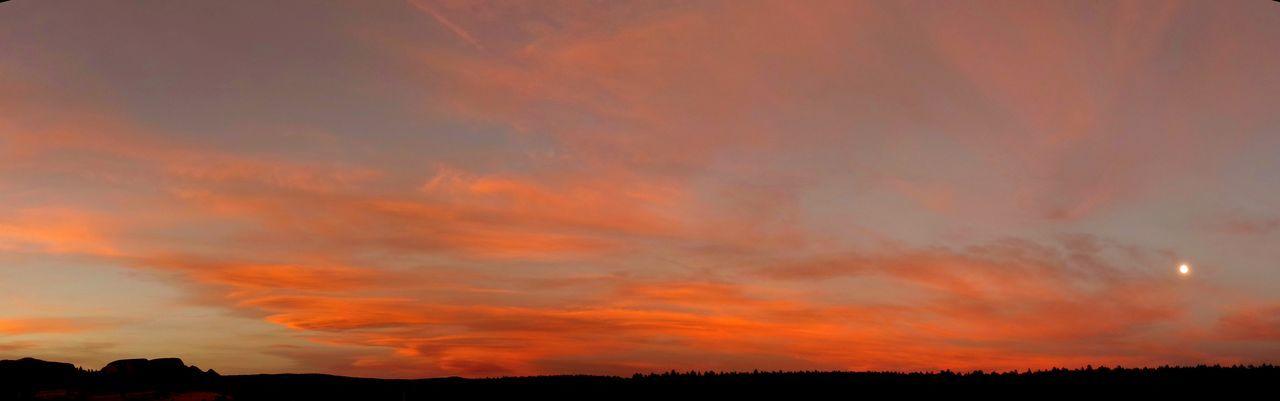 Sunset Orange Color Landscape Scenics No People Outdoors Newmexicomountain Newmexicophotography Newmexicosunset Newmexicoskies Newmexicoskys Newmexicosunsets NewMexicoTRUE Beauty In Nature Cloud - Sky