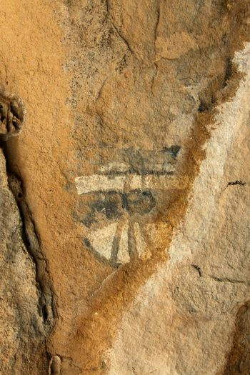 EyeEm Selects Ancient Culture Pictograph Outdoors Rocky Arid Climate No People Huecotanks State Park