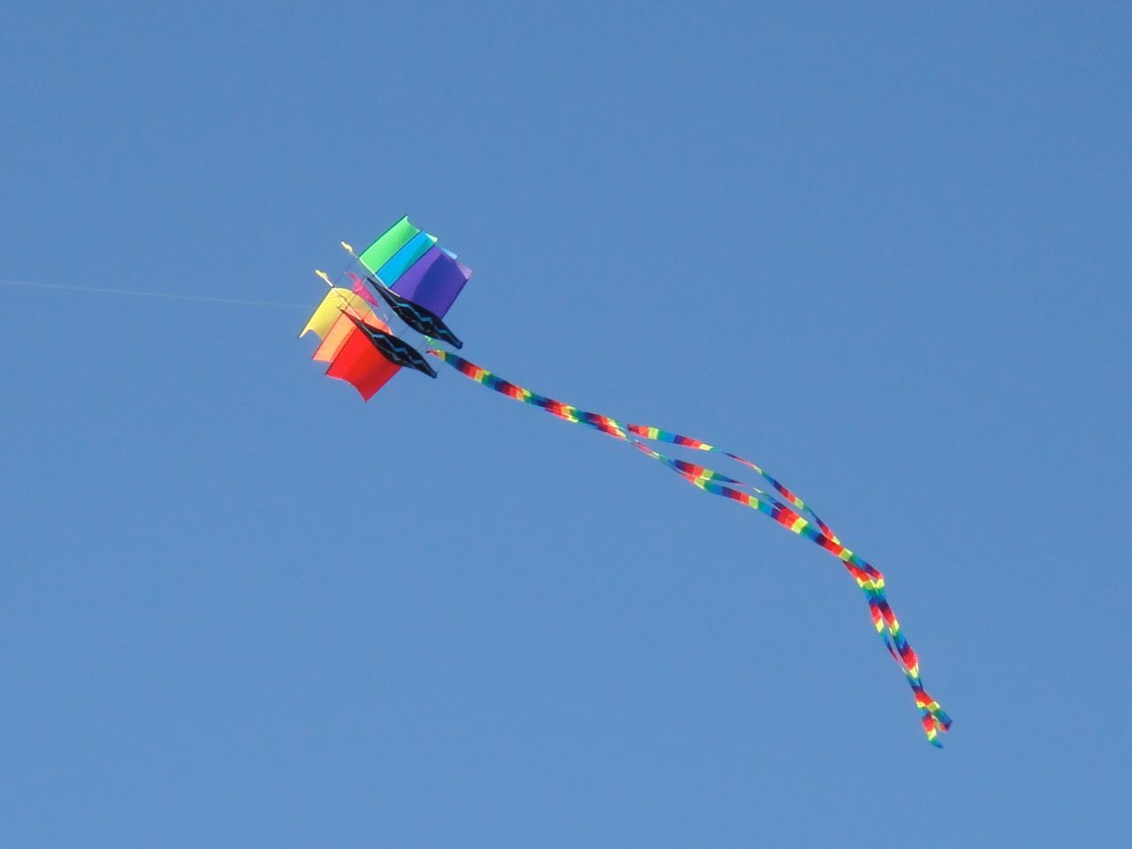 Colours True Blue Blu Sky Kite Colour Of Life