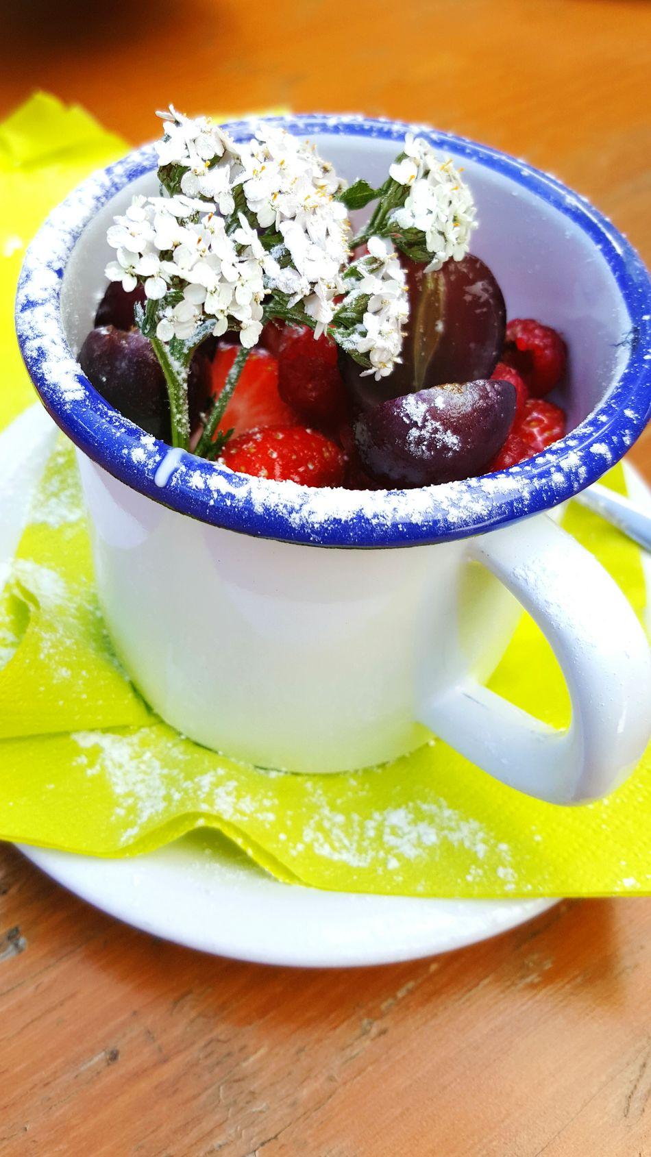 Handmade Yogurt Fruits Mountain Healthy Eating No People Freshness Ready-to-eat Flower Food First Eyeem Photo