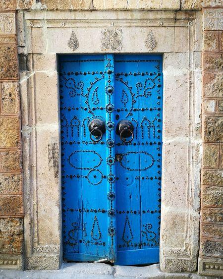 Door Closed Architecture Outdoors Building Exterior Tunisi Tunisie