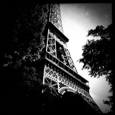 Hanging out at Tour Eiffel by Angel Kelly