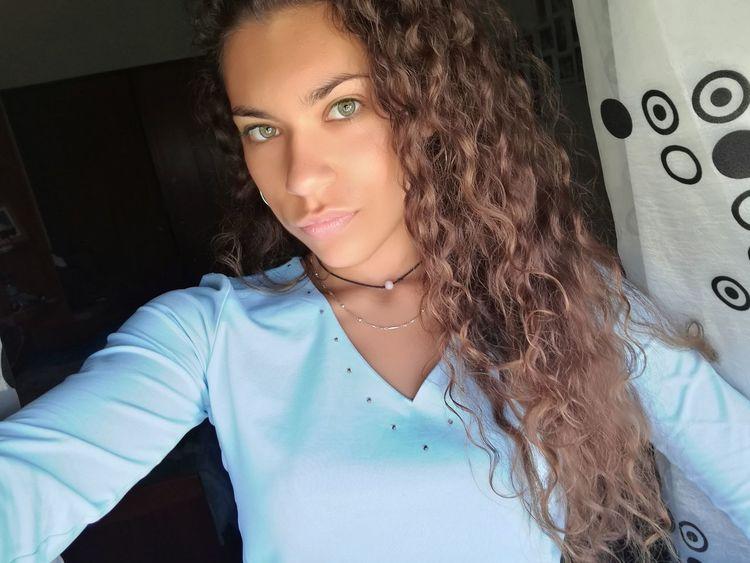 Today ♠ Babyblue Leiria Portugal Curly Hair Girly