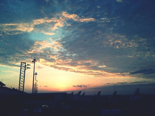 Morning at Juanda International Airport (SUB) by Ricky Dje