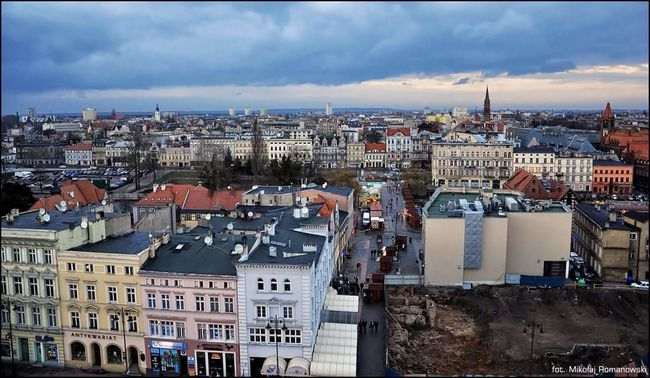 Bydgoszcz Architecture Building Exterior Cityscape Cloud - Sky High Angle View Built Structure City Residential Building Outdoors Development Day