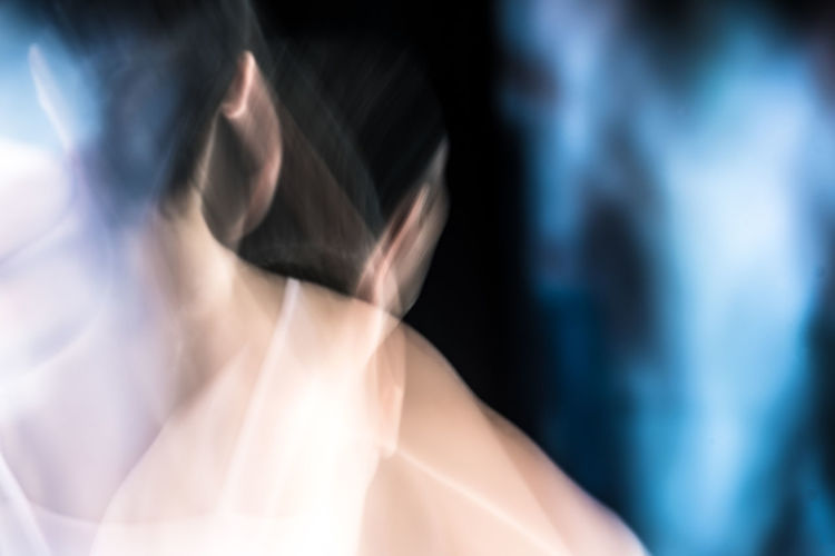 Abstract Photography Blurred Dance Experimental Folkwang University Abstract Ballet Ballet Dancer Blurred Movement Close-up Dancer Experimental Photography Indoors  Lifestyles Long Exposure Midsection One Person People Real People Unsharpness Women Young Adult AI Now