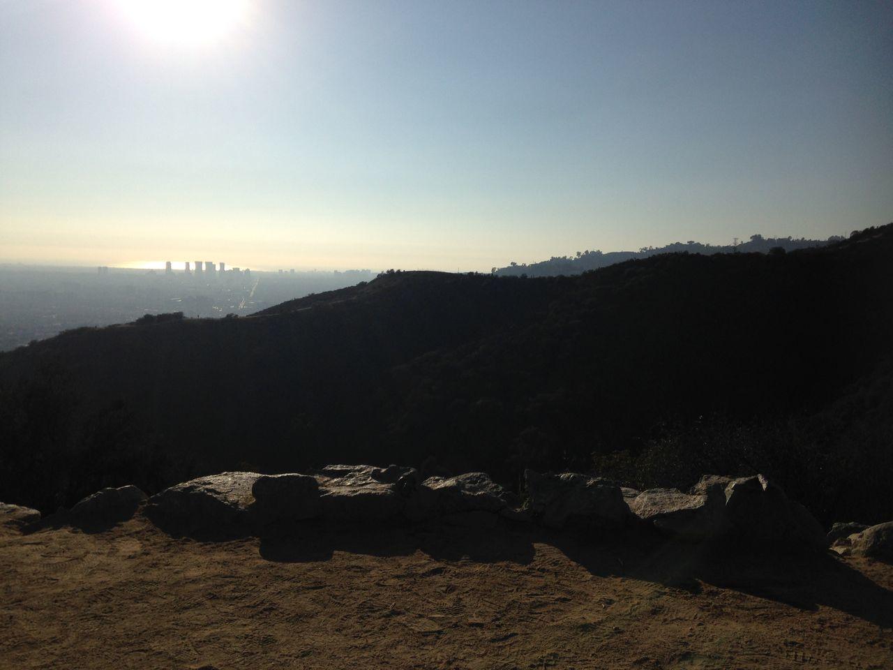 Runyon Canyon Los Angeles, California Hiking Mountain