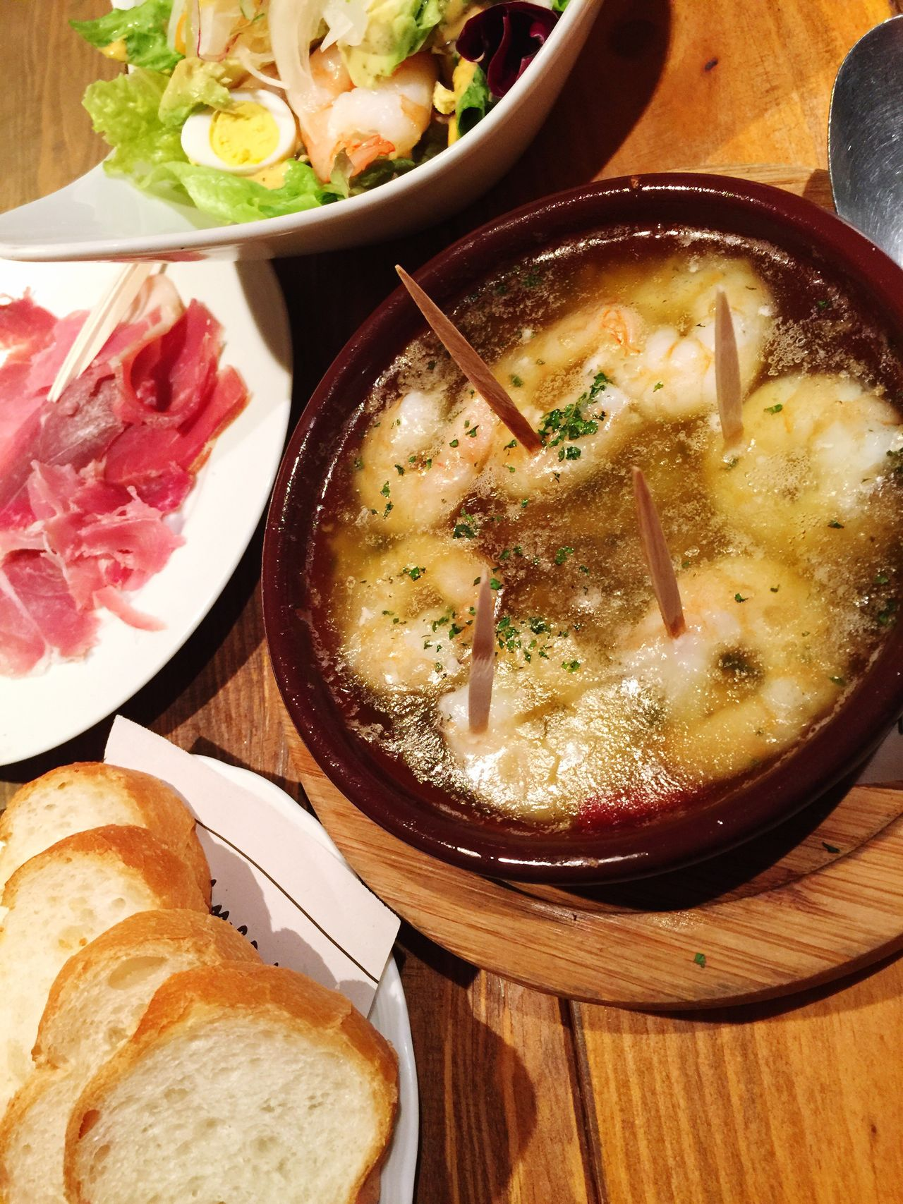SPAIN SPAIN Val  Food And Drink Food Table Serving Size Indoors  Meat Bowl Freshness Healthy Eating Ready-to-eat Plate Soup No People Pork Close-up Day Eye Edgy