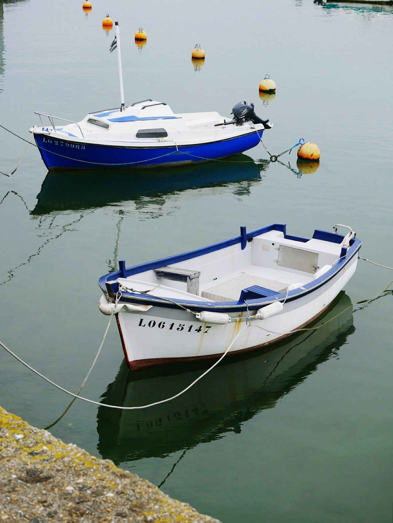 Nautical Vessel Reflection Water Transportation Moored Mode Of Transport Outdoors Brittany ❤
