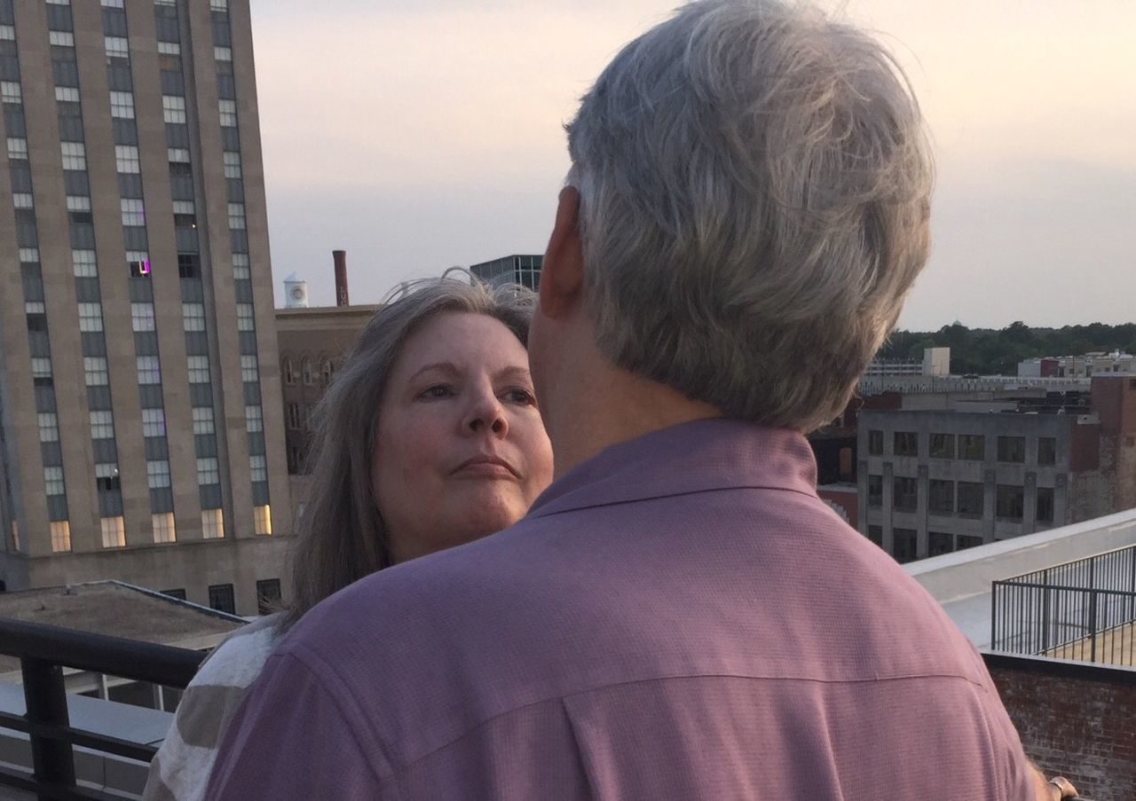 Roof Bar The Durham Hotel 30 Years together Marriage  Downtown Durham Revitalization
