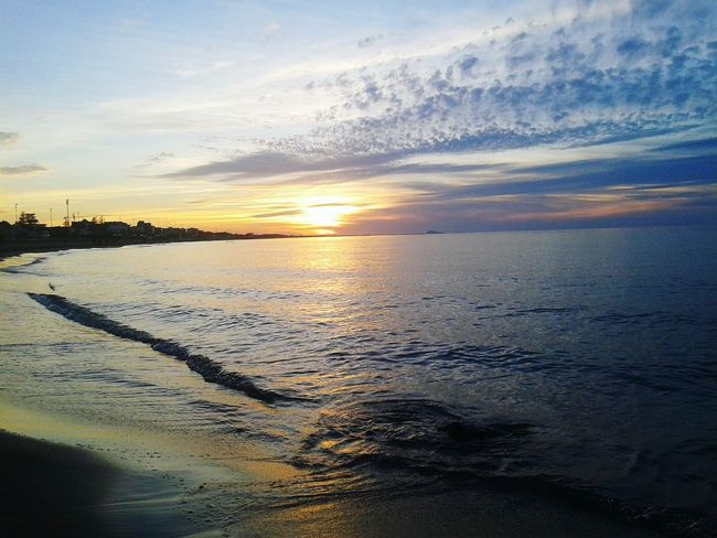 Beach Beach Nature Sunrise