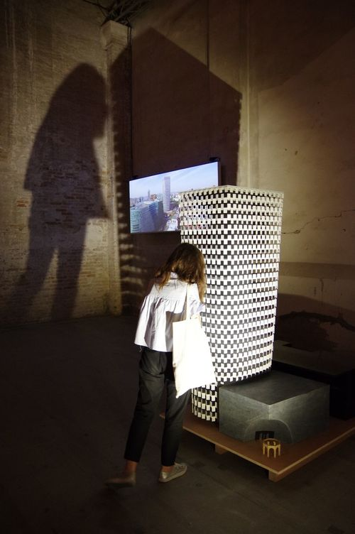 Biennale Architettura 2016 Reportingfromthefront Venicearchitecturebiennale Architecture Scale Model Shadows & Lights Giant Shadow Gallery