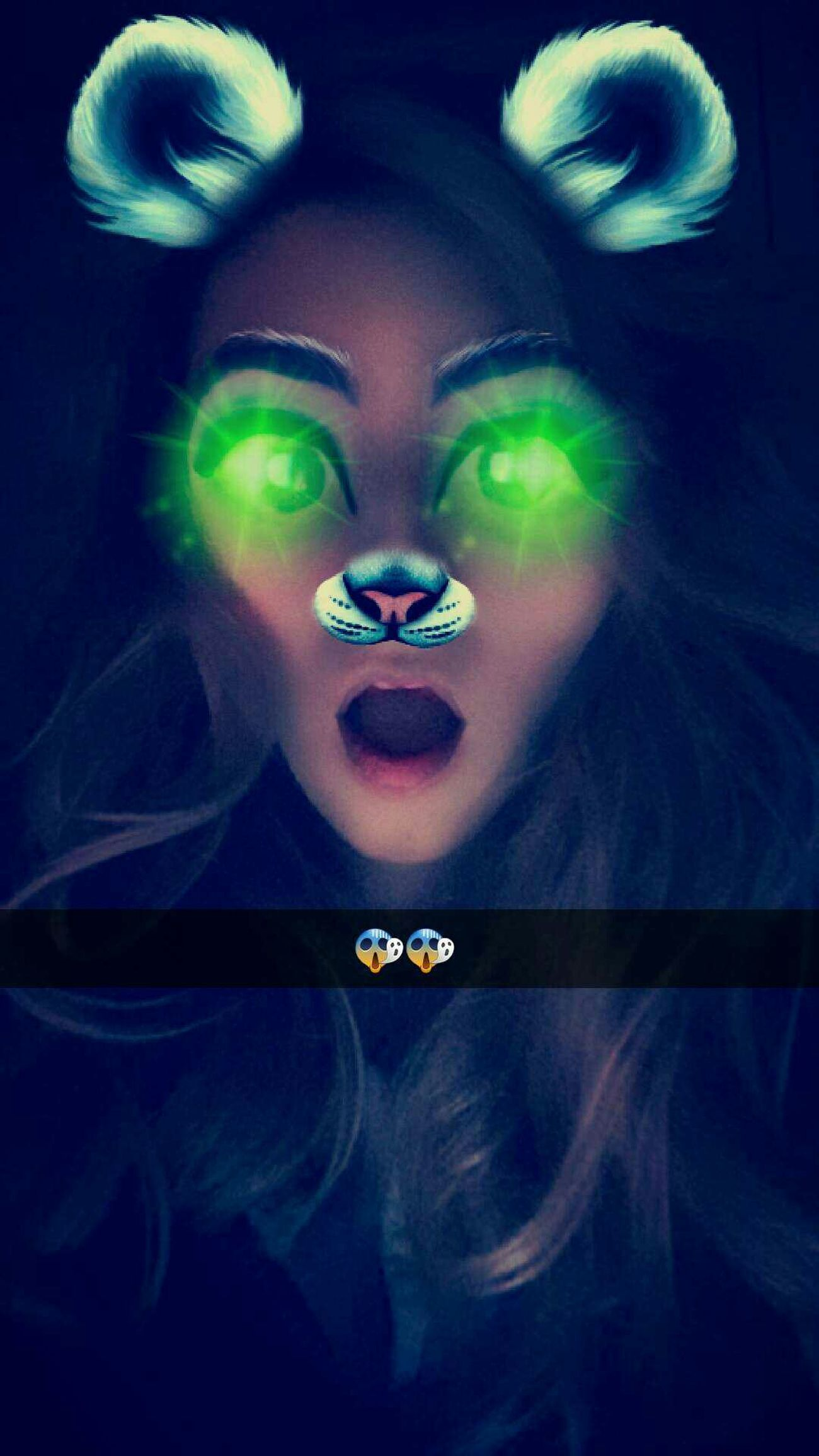 Nothing to do 😂 Open Mouth Fun Funny Effects Eyes Me Happy Awake Latenight
