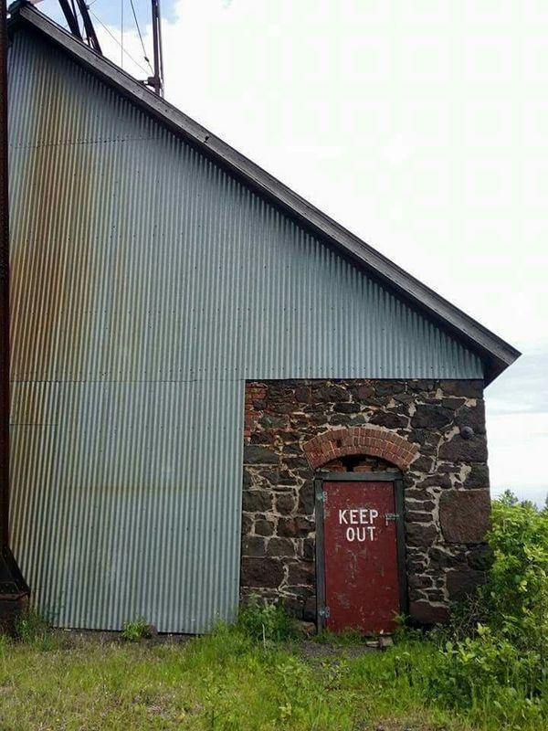 Keep Out / Quincy Mine Industrial Hancock, MI Michigan Pure Michigan Nofilter Noedit