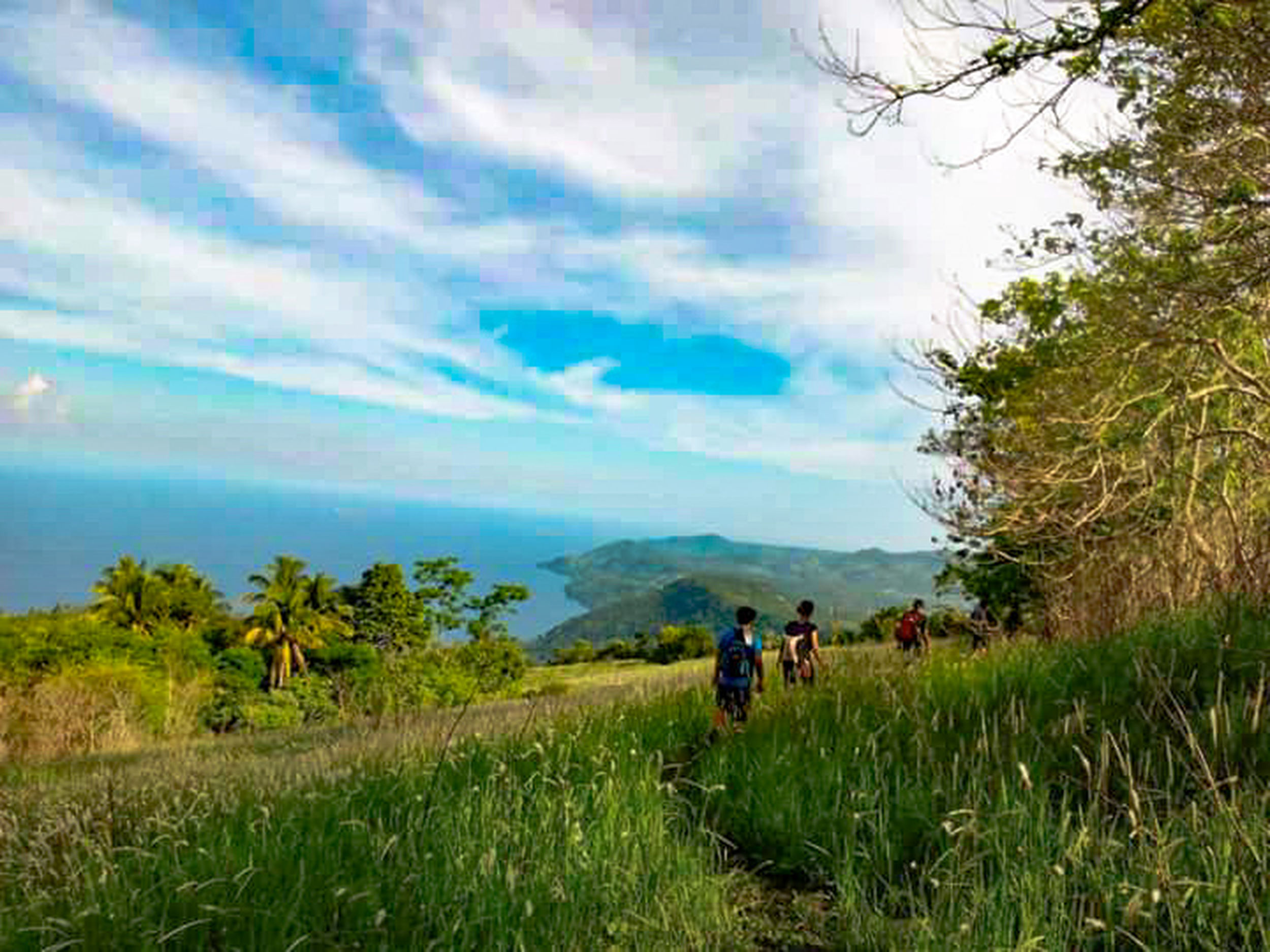 Ocean is more ancient than the mountains, and freighted with the memories and the dreams of time. PutingBato IslandGardenCityOfSamalHighestPeak Davaodelnorte SummerClimb2015 Itsmorefuninthephilippines 1755ftAboveSeaLevel