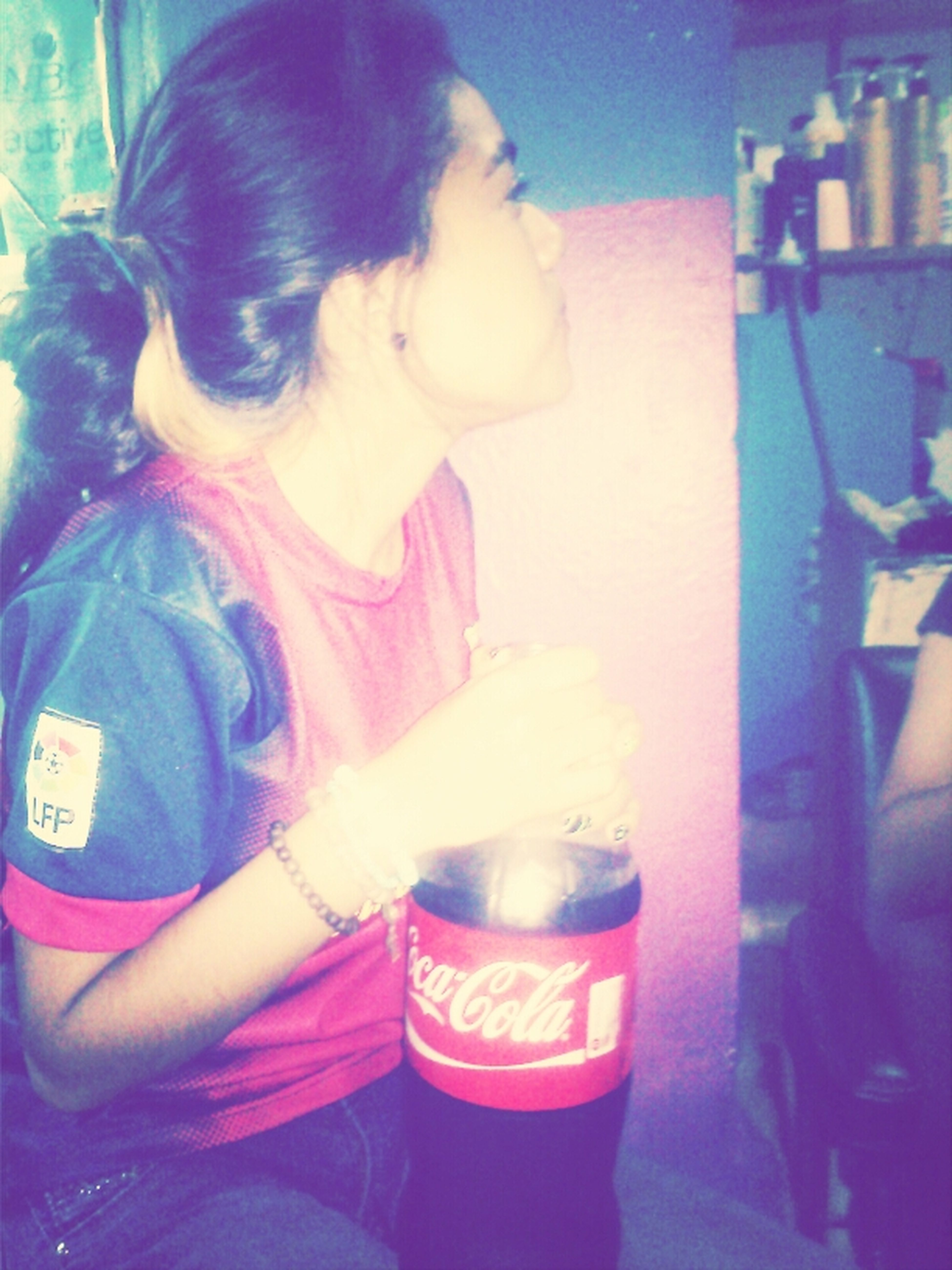 #Hair. #Love #Lips #Cocacola