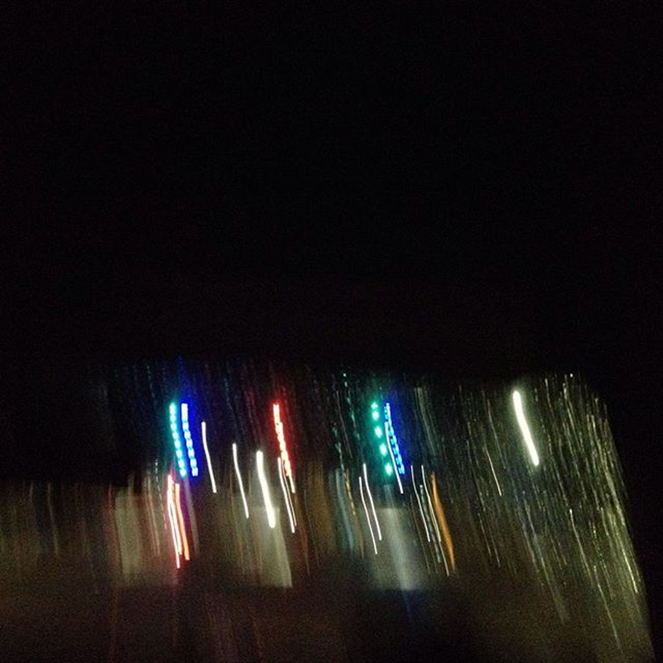 Its raining and the lights in front is the light from the toll gate in NLEX'! Took a picture because it looks like a christmas light! LightVandals PickMeRAHuaweiP8 CreateWithP8 HuaweiP8