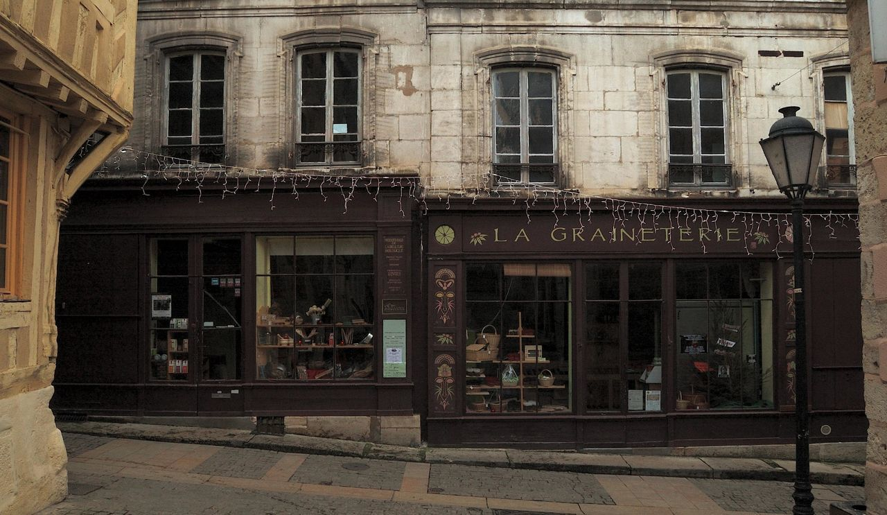 Architecture Architecture Commerciale Architecture Rurale Clamecy Door Entrance Exterior Façade Geometry Glass - Material Graineterie No People Urban Vitrine Wall Window Yonne