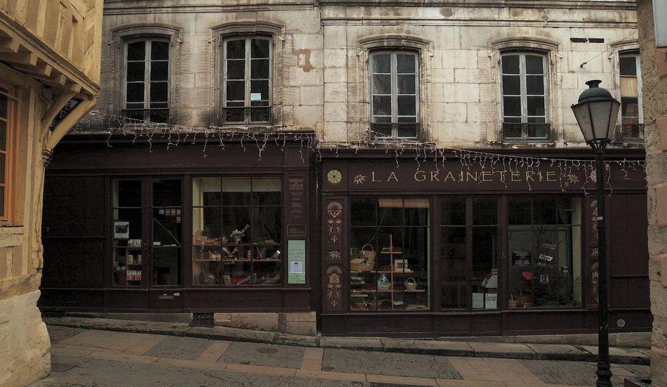 Architecture Architecture Commerciale Architecture Rurale Clamecy Door Entrance Exterior Façade Geometry Glass - Material Graineterie No People Urban Vitrine Wall Window Yonne